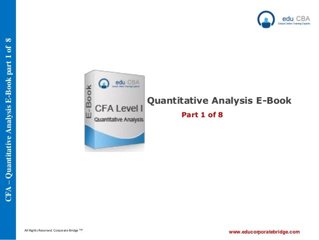 Cfa Level 1 Qbank Ebook Download