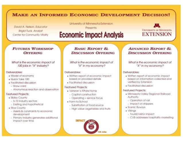 Make an Informed Economic Development Decision: Economic Impact Analysis