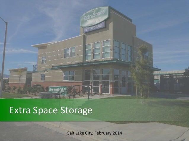 Extra Space Storage Salt Lake City, February 2014