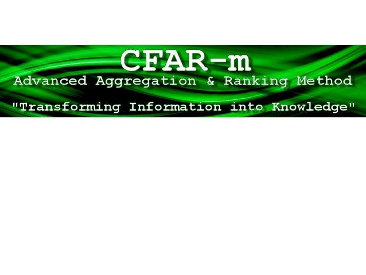 CFAR-m Presentation English