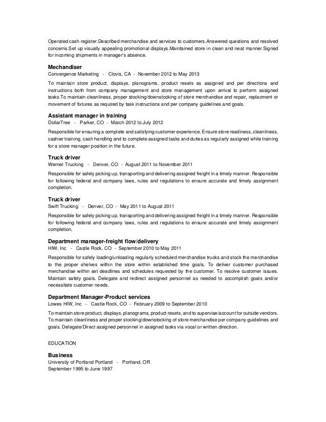 James Hoffman Resume 1 Use This First