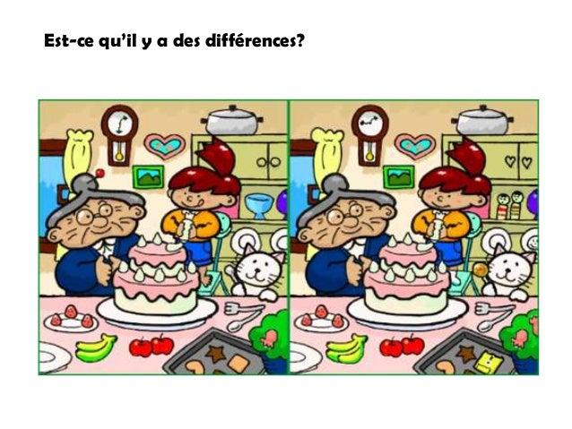 Est-ce qu'il y a des différences?
