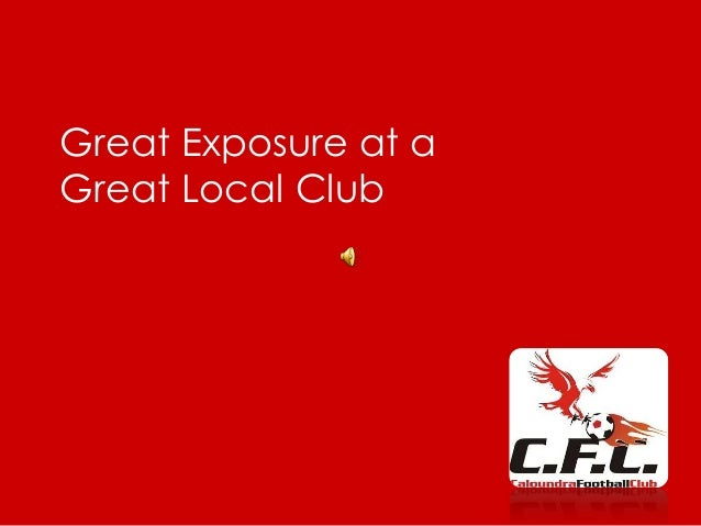 Great Exposure at a Great Local Club