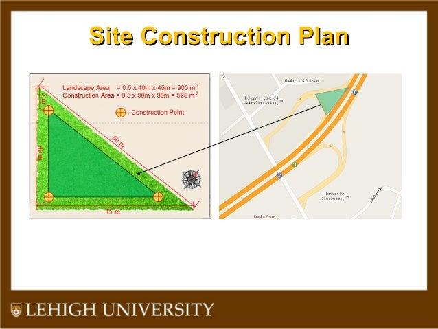 Site Construction PlanSite Construction Plan