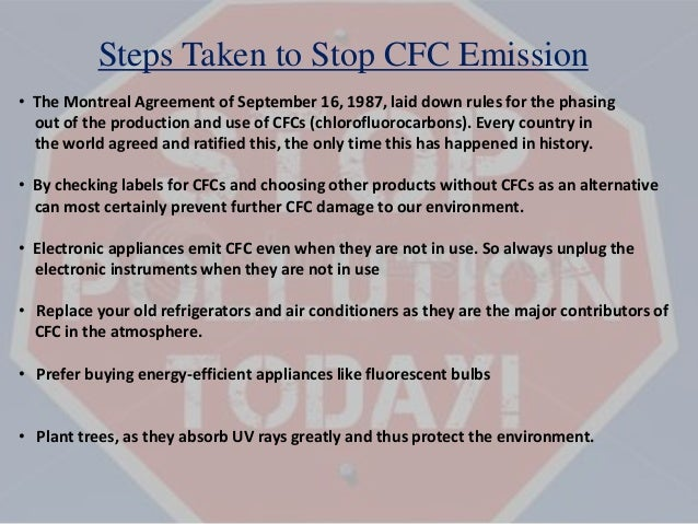 cfcs and air pollution Air conditioners and fridges contain potent greenhouse gases known as  cfcs  and hcfcs were used as refrigerants in air conditioning units and  cutting  emissions could prevent nearly 300,000 us air pollution deaths.