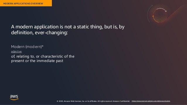 Costruire Applicazioni Moderne con AWS Slide 3