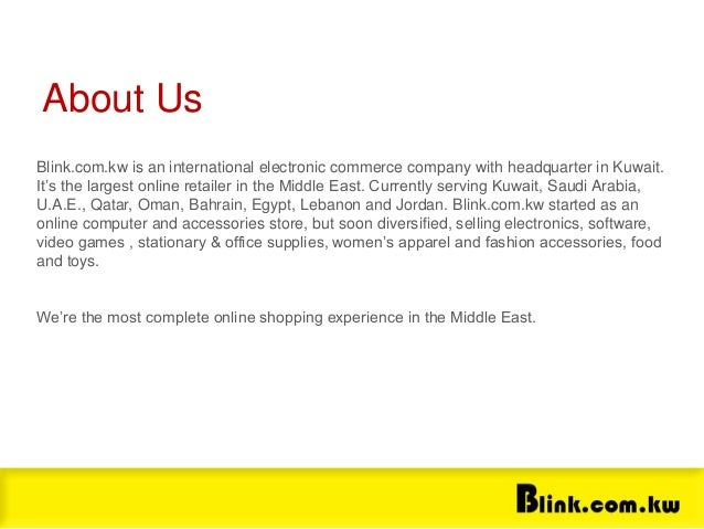 Blink com kw Presentation