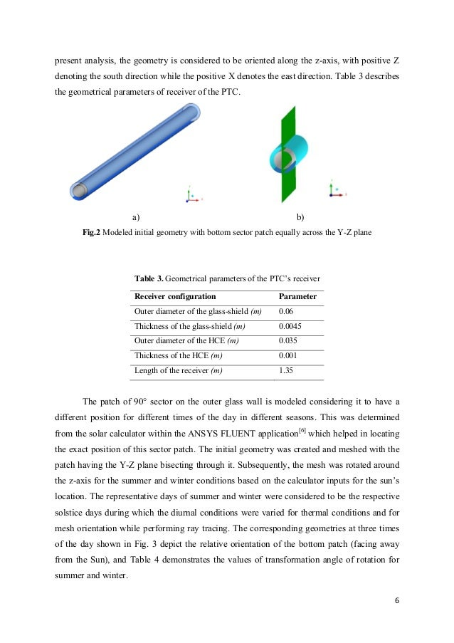 analysis of parabolic trough collector Anbar journal for engineering sciences 109 ajes-2012, vol5, no1 experimental and theoretical study of a parabolic trough solar collector.