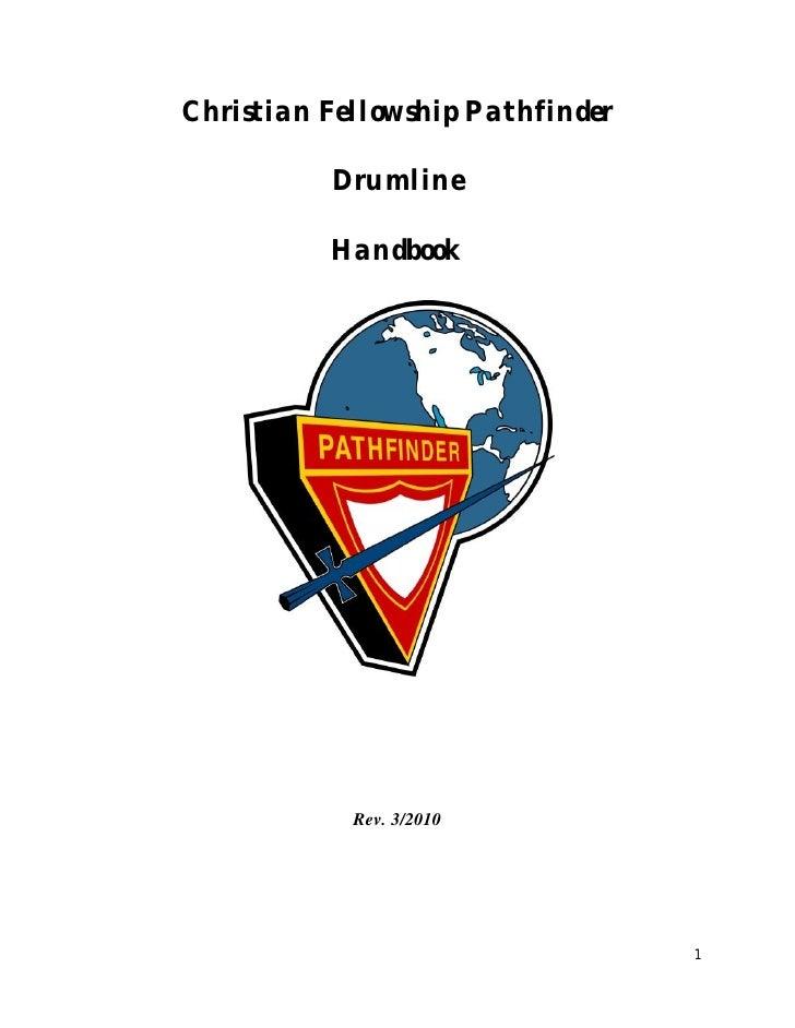CF Drum Corp drumbook