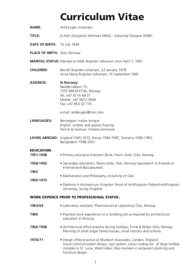 arild-cv-english-1-638 Example Of Performance Resume on best sample, graphic design, good job, best teacher, registered nurse, new professional, great customer service,