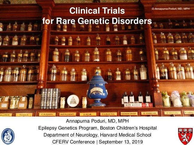 Annapurna Poduri, MD, MPH Epilepsy Genetics Program, Boston Children's Hospital Department of Neurology, Harvard Medical S...