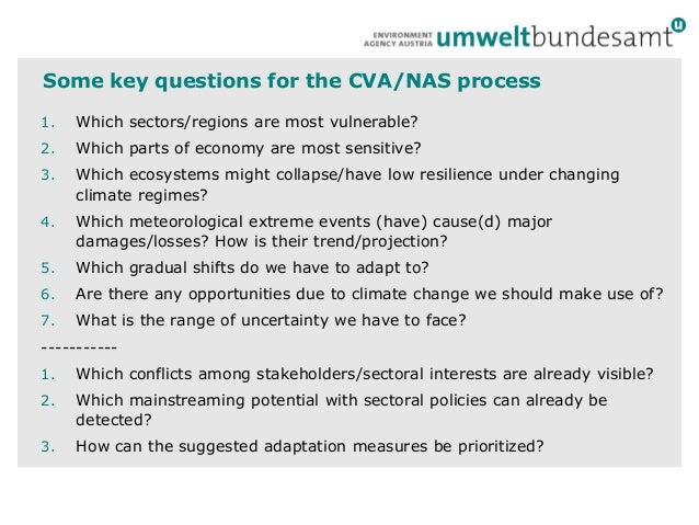 From Vulnerability assessments to adaptation -Martin Konig Slide 3
