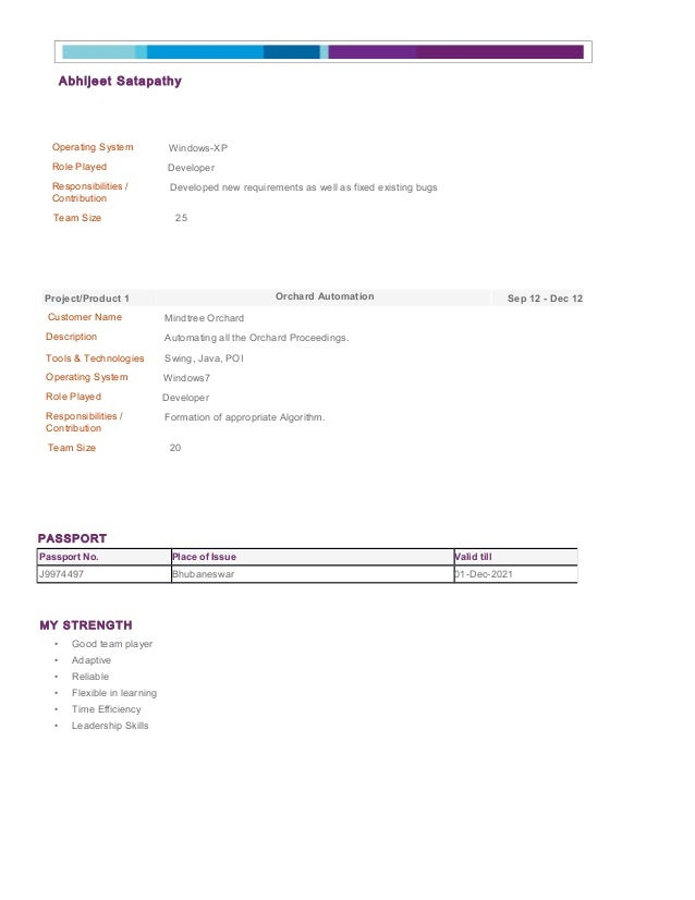 My Resume Preview(doc)