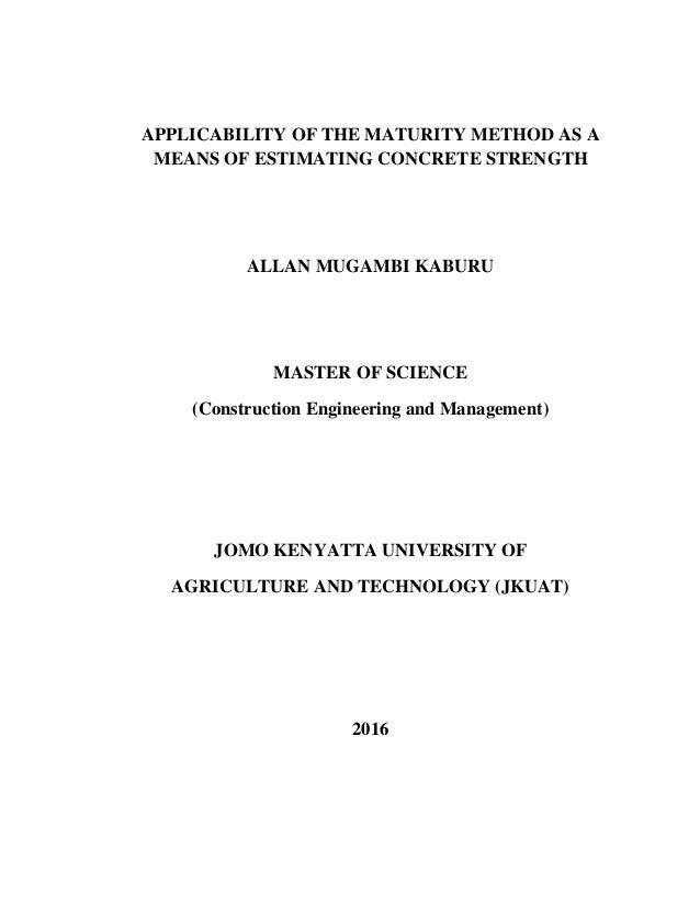 jkuat msc thesis