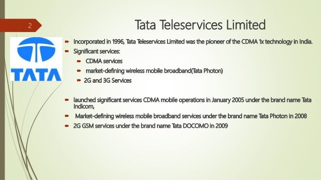 tata teleservices ltd internship report Electronic copy of the annual report for financial year 2016-17 and nd the notice  of  assignment' in that band acquired through this auction.