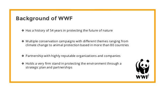 an analysis of the un ethics of the wwf N use ethical theories and principles in the decision-making process n apply ethical principles to analysis of hr case problems n identify various solutions to ethical case questions.