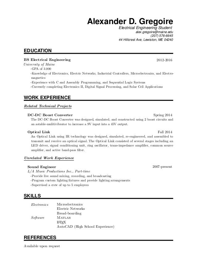 Template For Resume Latex Example Good Resume Template Rhgmu Limdns Org  Cover Letter And Resume Download  Resume In Latex