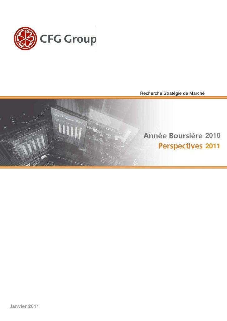Recherche Stratégie de Marché                                               2010                                          ...