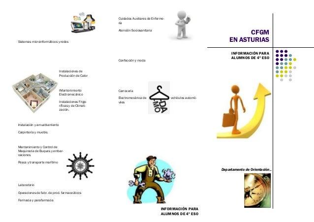Ciclos Formativos De Grado Medio En Asturias