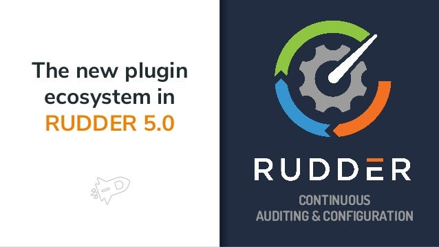 The new plugin ecosystem in RUDDER 5 0