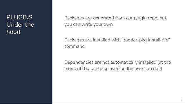 The new plugin ecosystem in RUDDER 5 0