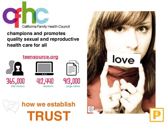 champions and promotes quality sexual and reproductive health care for all erin leigh mcconnell teensource.org how we esta...