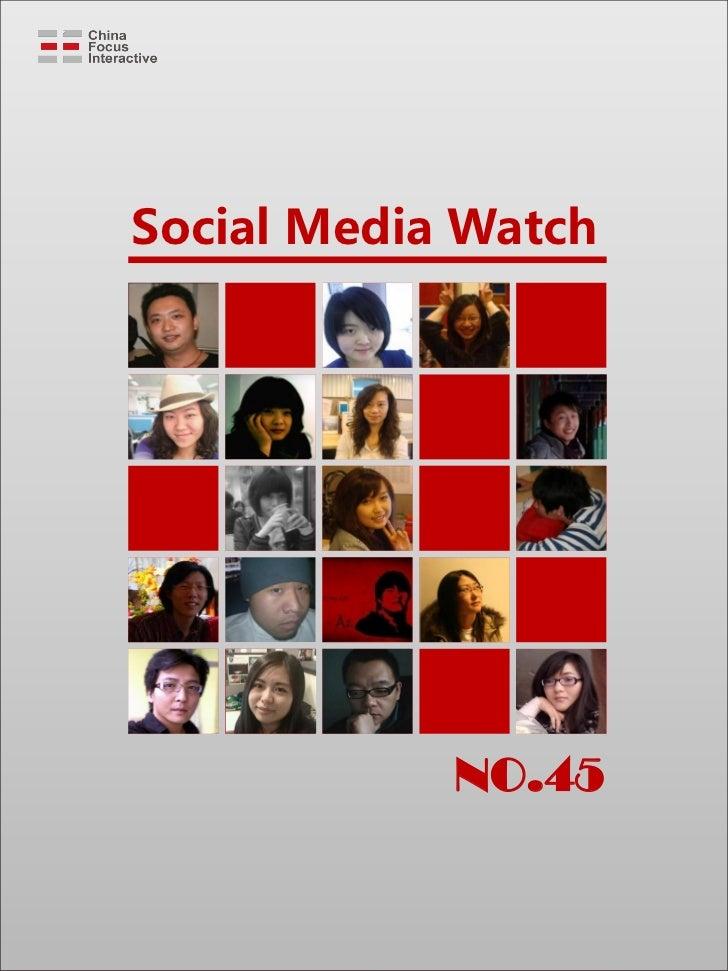 Social Media Watch            NO.45