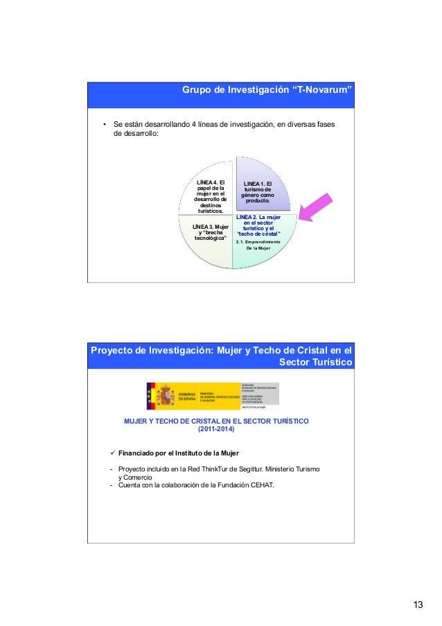 """Grupo de Investigación """"T-Novarum""""  • Se están desarrollando 4 líneas de investigación, en diversas fases     de desarrol..."""