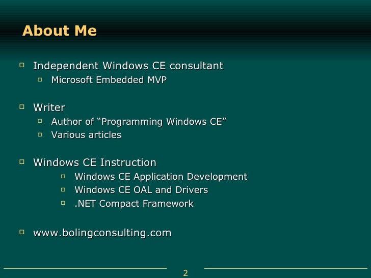 Programming microsoft windows ce douglas boling