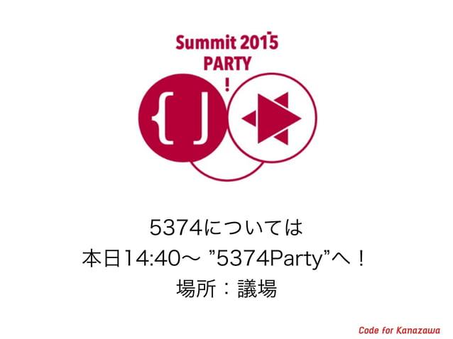 アイデアソンやハッカソンを定期的に開催/UDCにも参加 但し、課題ドリブンで! Team: K. Fukushima, T. Torige, R. Sakai, Y. Iwai
