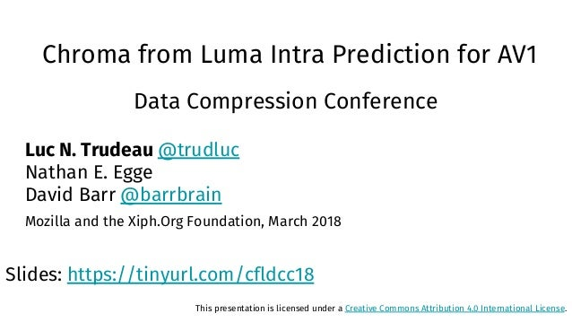 Chroma from Luma Intra Prediction for AV1