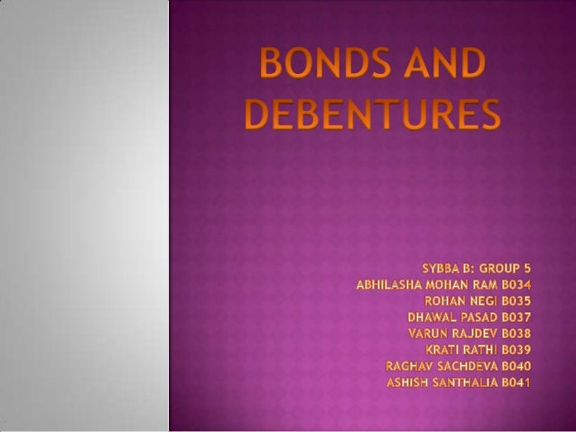    a bond is an instrument of indebtedness of the bond issuer    to the holders.   It is a debt security, under which th...