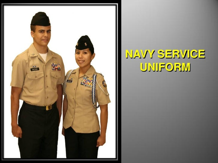 Navy service dress blue name tag placement