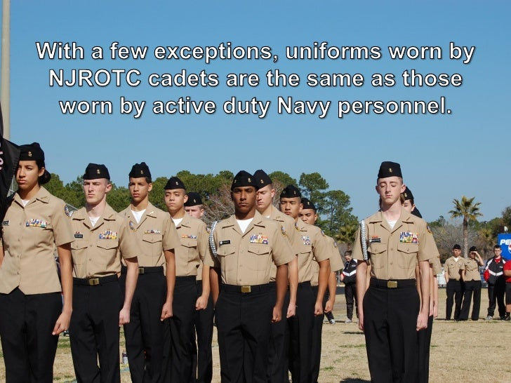 Ns1 10 Njrotc Uniform Regulations