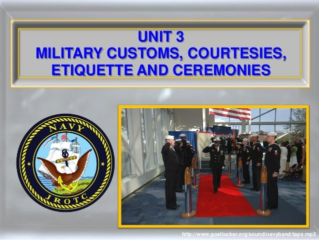 Essay on customs and courtesies military