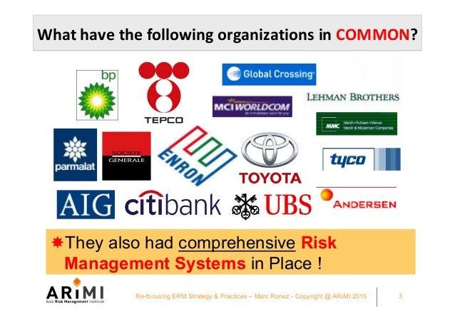 CFO Asia Exchange Singapore 2015 Refocusing your ERM strategy and practices - Marc Ronez presentation Slide 3
