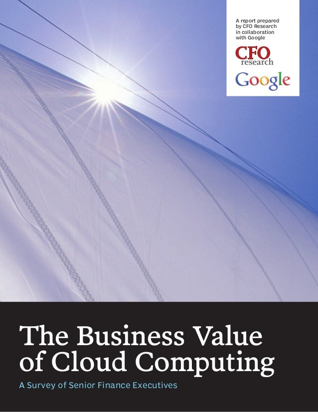 A report prepared                                        by CFO Research                                        in collabo...