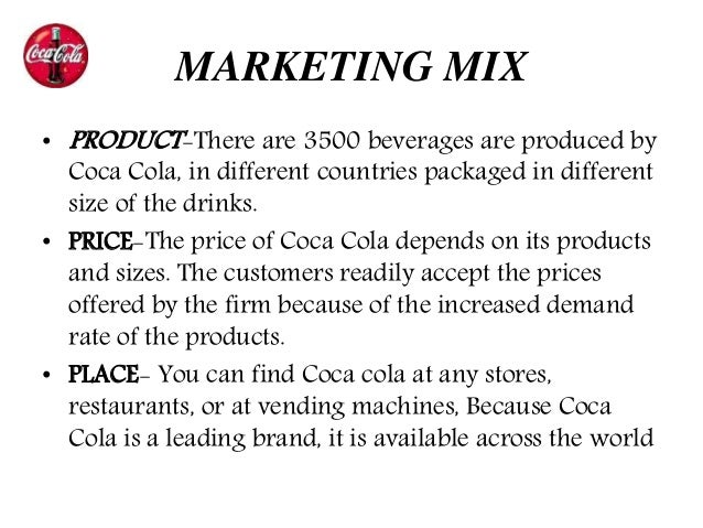 an analysis of the coca cola company in the worlds leading manufacturers of beverages And beverages concerned in the world coca cola  coca cola's industry the coca cola manufacturers add  the different analysis of coca cola company.