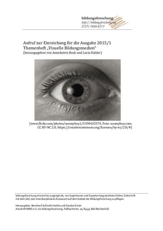 bildungsforschung ist eine frei zugängliche, von Expertinnen und Experten begutachtete Online-Zeitschrift mit dem Ziel, de...