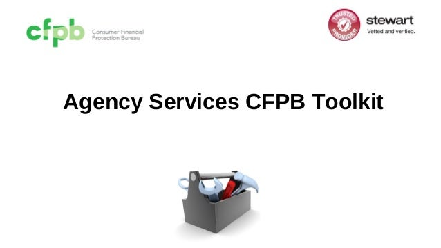 Agency Services CFPB Toolkit