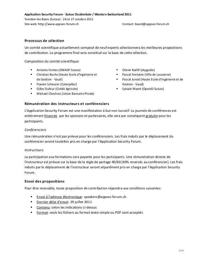 Application Security Forum - Suisse Occidentale / Western Switzerland 2011Yverdon-les-Bains (Suisse) - 26 et 27 octobre 20...
