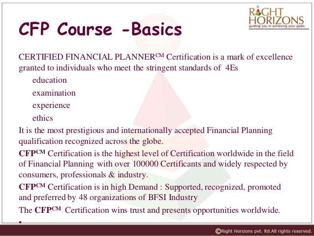 CFP Coaching Course Details