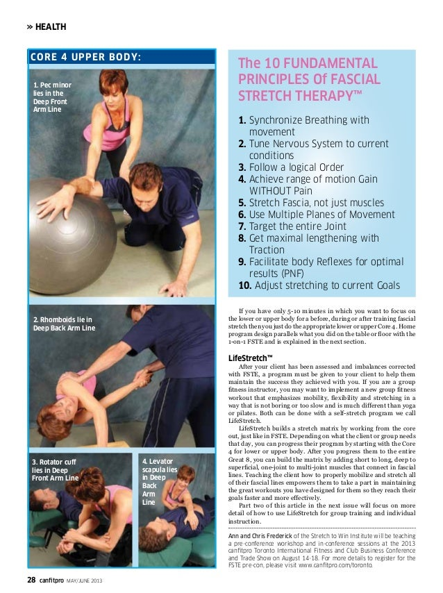 Stretch to Win - Fascial Stretch Therapy® featured in