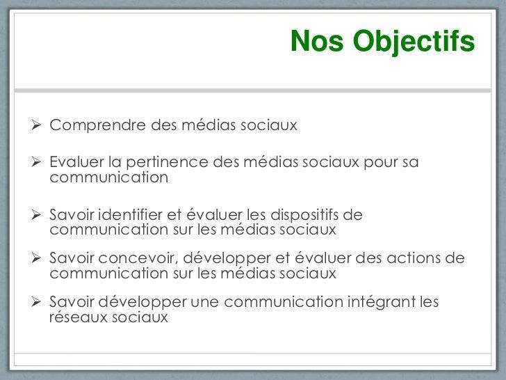 Intégrer les réseaux sociaux dans sa stratégie de communication Slide 2