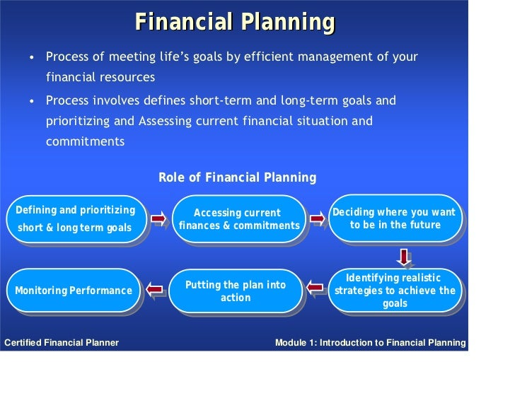Financial planner thesis