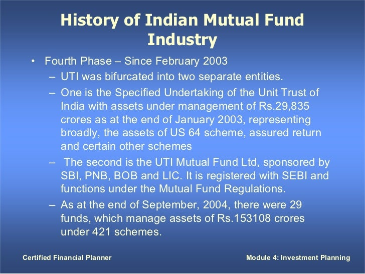 pest analysis on indian mutual fund industry