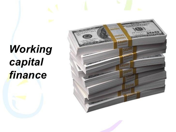 Workingcapitalfinance