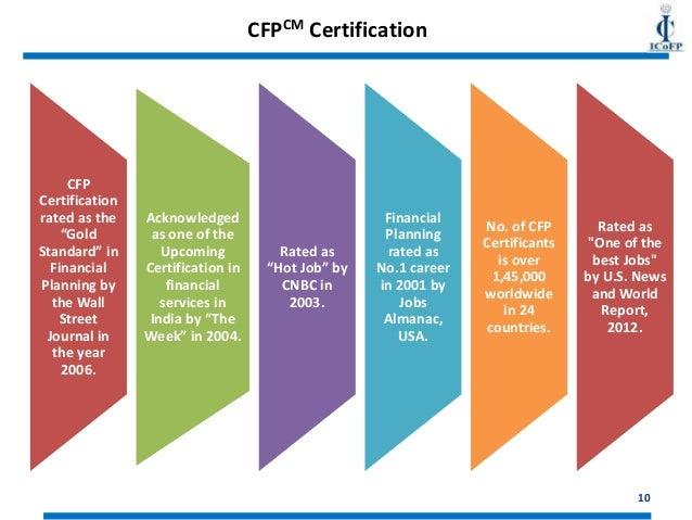 Certified Financial Planner (CFP) Certification Course