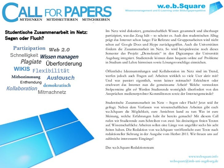 MITDENKEN   MITDISKUTIEREN   MITSCHREIBENStudentische Zusammenarbeit im Netz:         Im Netz wird diskutiert, gemeinschaf...