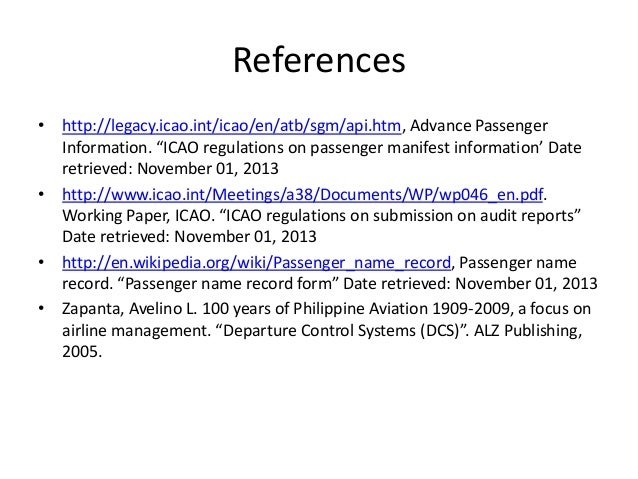 ICAO Publications